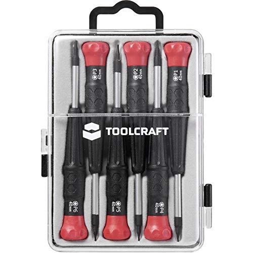 Toolcraft PENTALOBE-SCHRAUBENDREHER-Set 6-TEILIG