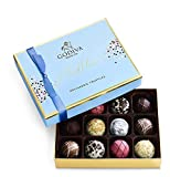 GOURMET CHOCOLATE: This 12-piece Godiva chocolate gift box features an exciting assortment of gourmet milk, white, and dark chocolate truffles crafted with classic Belgian fillings DELICIOUS FILLINGS: Sweet strawberry purée, rich caramel, decadent ga...