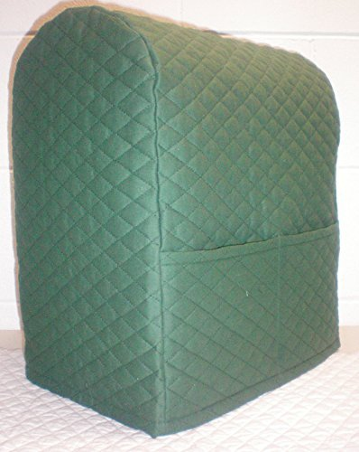 Quilted Kitchenaid Lift Bowl Stand Mixer Cover (Hunter Green)
