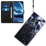 Jamitai Klapptasche für Handy Meizu M5 Hülle Leder Handytasche Handyhülle Brieftasche Hüllen Hülle mit Kartenfach & Ständer/ZMT01P-0E
