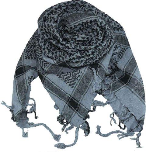 Harrys-Collection PLO Tuch in 20 Farben 100% Baumwolle dick, Farben:grau