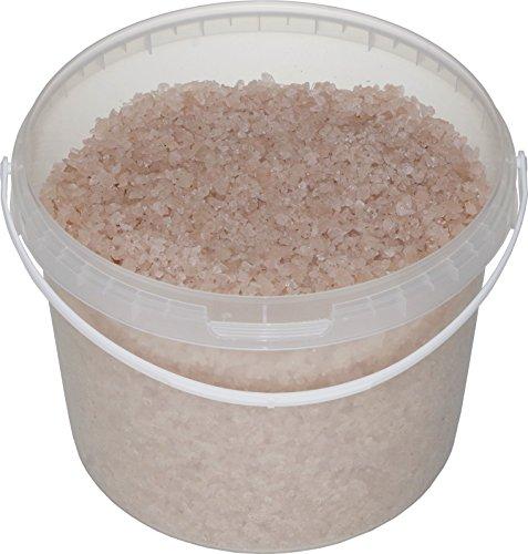Sivash rose meer-badesalz, non raffiné, naturel, 5 kg, pour 10 SALLES, petit cristal