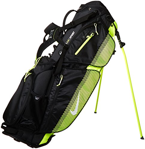 Great Price! Nike BG0342-007 Air Sport Golf Carry Bag, Black/White/Volt
