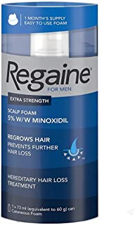 Regaine For Men Hair Regrowth Foam, 73 ml - Single Pack