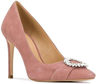 Michael Michael Kors Womens Viola Pump Leather Pointed, Dusty Rose, Size 10.0