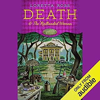 Death and the Redheaded Woman audiobook cover art