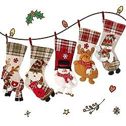 Medias-de-Navidad-de-Lino