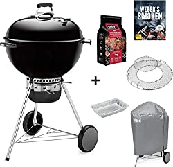 Weber® Kugelgrill Master-Touch GBS 57 cm schwarz, Special Edition Pro inkl. Abdeckhaube