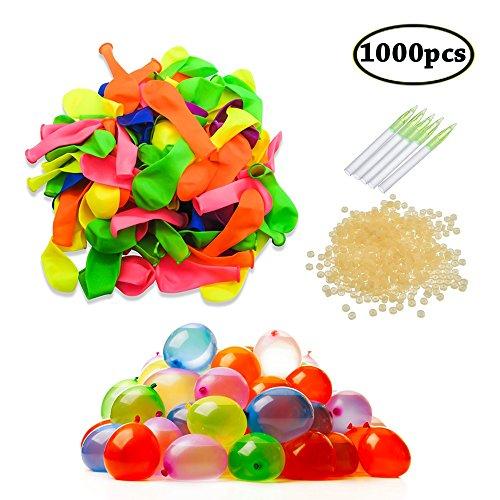 SWZY 1000PCS Wasserbomben Wasserballons Water Luftballons