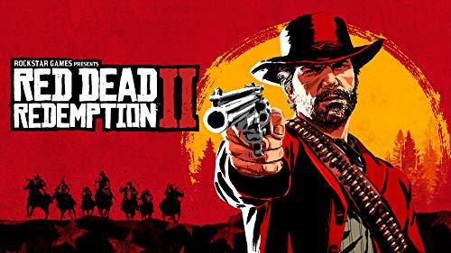 Craftylittlepenguin Red Dead Redemption 2 Gaming Poster Druck A4 A3 A2 Maxi Gamer Online Geek Art RDR2-1582, A2-420 x 594 mm