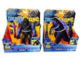 MonsterVerse Godzilla vs Kong 6' Godzilla Kong and Godzilla, Hong Kong Battle