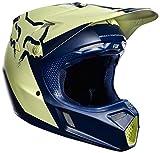 Fox V-3 Libra Indianapolis Helmet Navy/Yellow