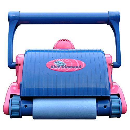: Water Tech BLD03 Blue Diamond Robotic Pool Cleaner with Cart : Swimming Pool Robotic Cleaners