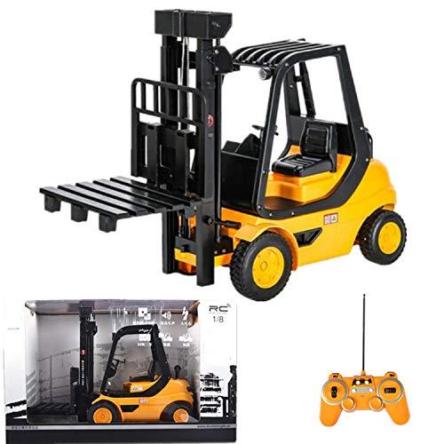 RC LKW Paletten Schaufel Fahrzeug-Modell Technik-Gabelstapler Elektro-Simulation Hubwagens Boy Große Kinder Aufbau-Spielzeug Für Childre