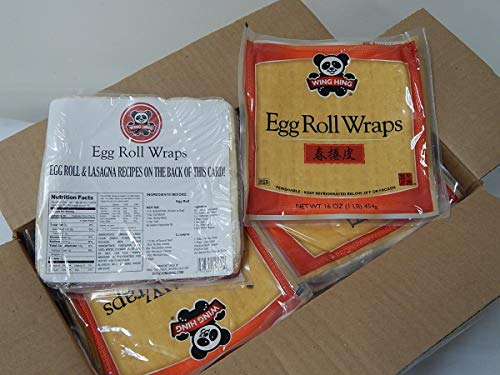 Wing Hing Eggroll Wrap, 16 Ounce -- 12 per case.