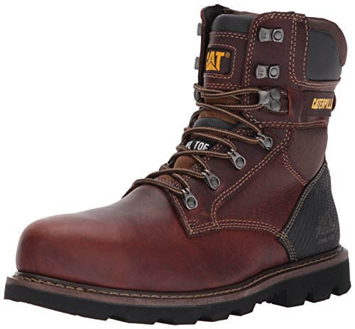 Caterpillar Men's Indiana 2.0 ST/Brown Industrial and Construction Shoe ✅