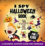 I Spy Halloween Book for Kids Ages 3-5: A Fun and Colorful Activity Guessing Game, Cute Spooky Pictures for Toodler and Preschool Kid (English Edition)