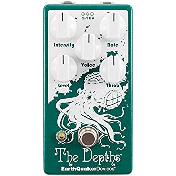 EarthQuaker Devices The Depths V2 Analog Optical Vibe Machine Guitar Effects Pedal