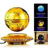 LULUTING Schwebender Globus/Magnetic Levitation Kugeln / 6 Zoll Bunte LED-Leuchten/Kinder Bildung Geschenke Werkzeuge/Home Desk Dekoration, kreative Neuheit-Geschenke