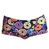 Funky Trunks Badehose Herren Dunking Donuts - Bunte Trainings-Schwimmhose -