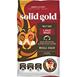 Solid Gold - Wolf King with Real Natural Bison & Brown Rice - Holistic Whole-Grain Rich - Large Breed Dry Adult Dog Food - 12 lb