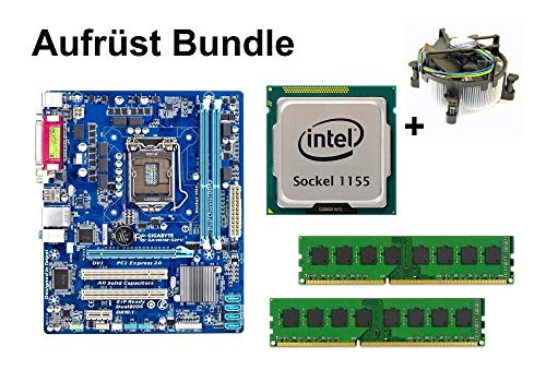 Aufrüst Bundle - Gigabyte H61M-S2PV + Intel i3-3225 + 16GB RAM #89538