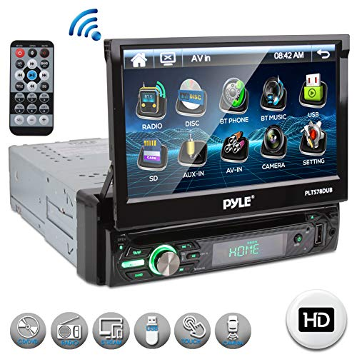 Best flip up in dash dvd player on the market 2020
