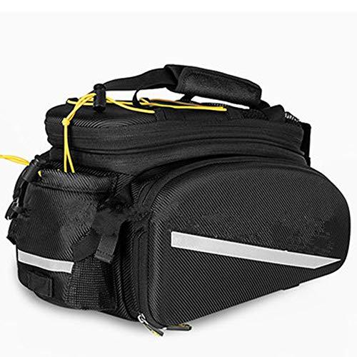 Great Deal! Bicycle Pannier Bike Pannier Trunk Bag, Large Capacity Waterproof Bicycle Rear Seat Pann...
