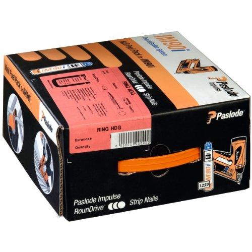 Paslode Impulse Packs - blank (gerillt) - Ø 3,1 x 80 mm