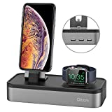 Charging Stand for Apple Watch Series 4, Oittm [5 in 1 New Version] 5-port USB Rechargeable Sta…