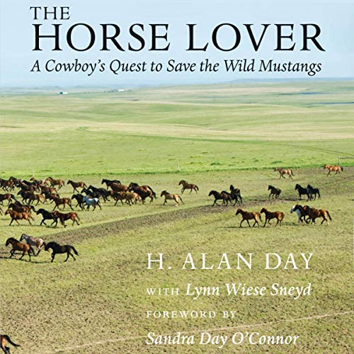 The Horse Lover audiobook cover art