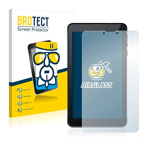 BROTECT Panzerglas Schutzfolie kompatibel mit Odys Rapid 7 LTE - AirGlass, 9H Festigkeit, Anti-Fingerprint, HD-Clear