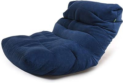 ビーズクッション 特大 座椅子 低反発クッション ソファー 怠け者 無地 通気性 分厚い座部 肉厚クッション 座り心地良い ふわふわ 4色 90*120*20cm