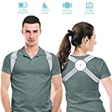 Posture Corrector for Wemen/Men/Kids, Back Brace Posture Corrector with Intelligent Sensor Vibration...