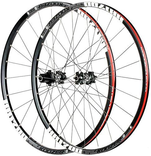 QQJK Juego de ruedas de bicicleta de montaña de 26/27.5 pulgadas, freno...