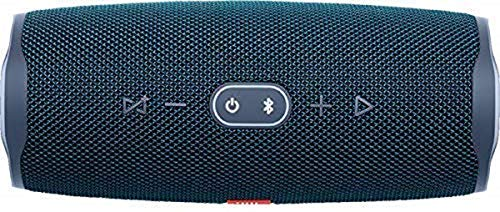 JBL Charge 4 Speaker Bluetooth Portatile – Cassa Altoparlante Bluetooth Waterproof IPX7 – Con Microfono, Porta USB, JBL Connect+ e Bass Radiator, Fino a 20h di Autonomia, Blu