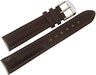 Shell Cordovan 18mm Brown Leather Watch Strap