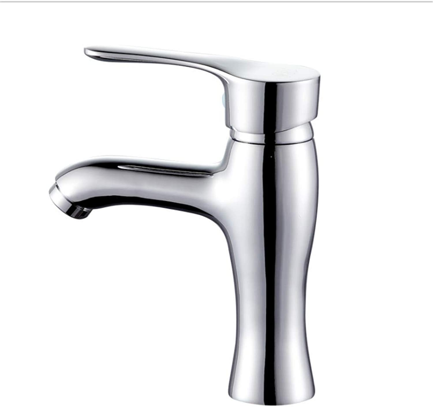 Kitchen Taps Faucet Modern Kitchen Sink Taps Stainless Steelface Basin Faucet Copper Face Basin Faucet Cold and Hot Water Faucet