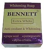 New Bennett Extra White Anti-Oxidant Alpha Arbutin Extreme Whitening Soap 130g/4.6oz