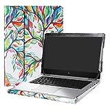 Alapmk Protective Case Cover for 13.3' HP EliteBook x360 1030 G2 Laptop(Warning:Not fit HP EliteBook x360 1020 G2/EliteBook 1030 G1/EliteBook x360 1030 G3 G4),Love Tree