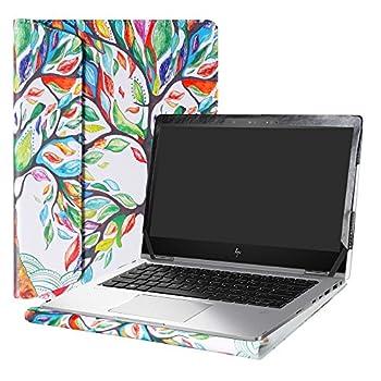 Alapmk Protective Case Cover for 13.3  HP EliteBook x360 1030 G2 Laptop Warning Not fit HP EliteBook x360 1020 G2/EliteBook 1030 G1/EliteBook x360 1030 G3 G4 ,Love Tree
