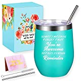 Wine Tumbler, Gifts for Women, Funny & Unique Anniversary Birthday Gifts for Mom Sister Girlfriend Wife Grandma Her, Personalized Women Gifts Ideas, Inspirational Gifts for Best Friends Female