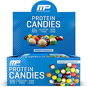 12-Pack MusclePharm Protein Candies 1.8 Ounces