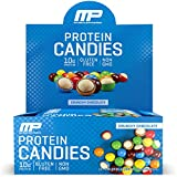 MusclePharm Protein Candies, 10g Protein, Crunchy Chocolate, 1.8 Ounces - Pack of 12