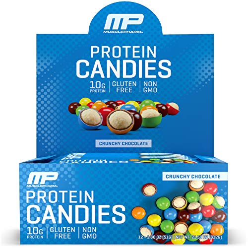 Muscle Pharm Musclepharm Protein Candies Crunchy Chocolate, 24 Ounce