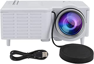 Projector, HD 1080P Video Projector, Portable Projector for LED Display Supported, Home Theater Video Projector with Fan +...