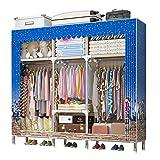 Closet Storage Closet Clothes Portable Organizador Armarios Estante Ropa de pie Armario Armario Almacenamiento Closet Ropa Portátil Armario Almacenaje Closet Wardrobe Closet Organizer Shelf Wardrobe