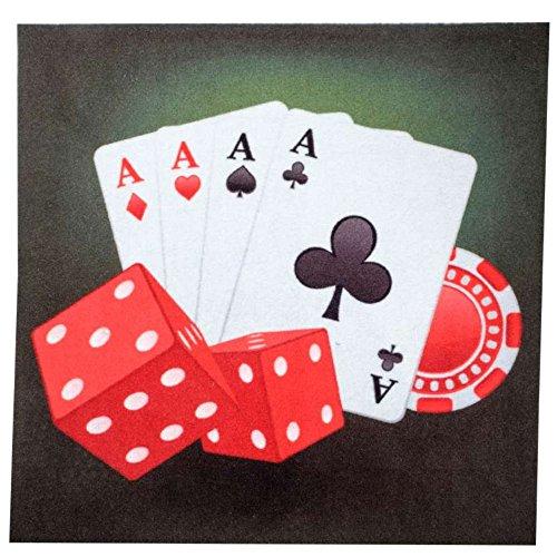Hdi Tapis de Carte de Luxe 60x60 cm