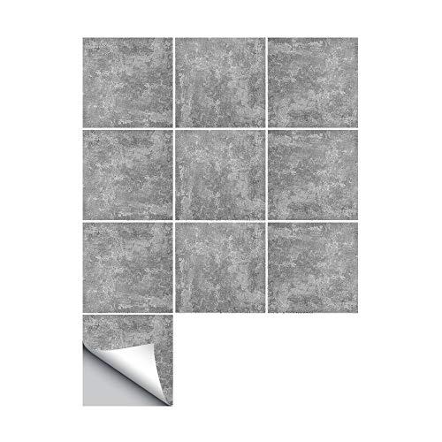 JASIN Vloer Stickers, Amerikaans-Style Craft Stijl Cement Tegel Creatieve Decoratie Woonkamer Keuken Vanity Muurstickers