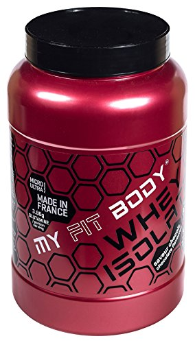 My Fit Body - Whey Isolate Gamma Pro - Proteina di Siero - Migliora i Risultati - Prodotti de Proteina - Integratori Sportivi - Gusto Cioccolato - 907 g